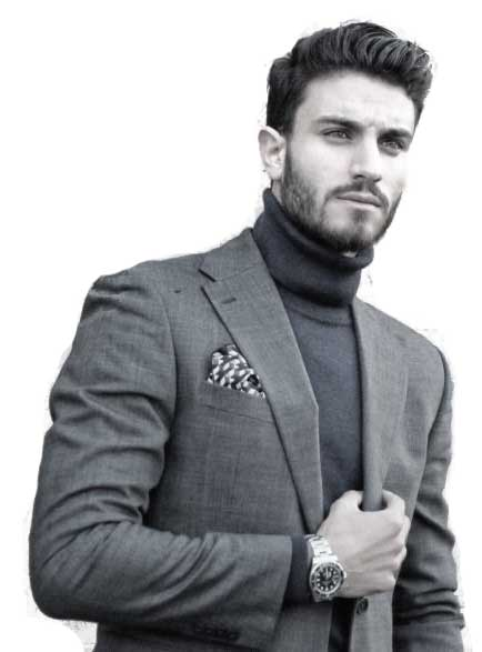 Look Great In A Polo Neck